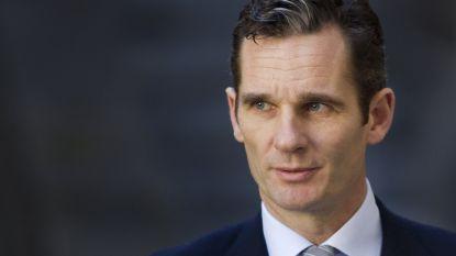 Schoonbroer van Spaanse koning in beroep veroordeeld tot 5 jaar en 10 maanden cel