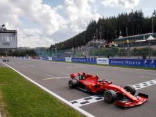 Date et huis clos confirmés pour le Grand Prix de Belgique