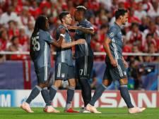 Bayern kent gemakkelijke avond in Lissabon