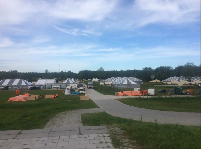 Het internationale evenement in Zeewolde wordt groots opgebouwd.