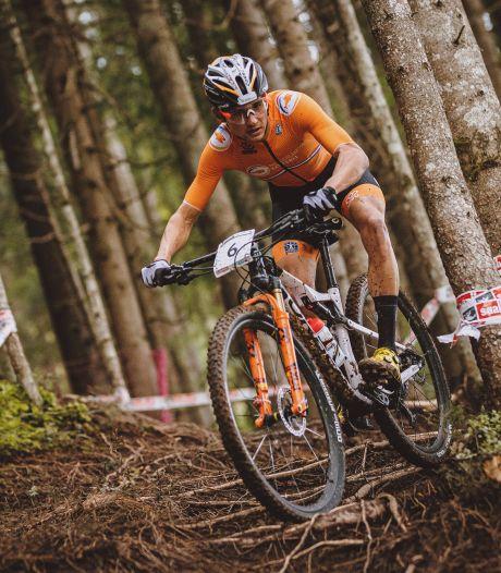 Vroege lekke band nekt Milan Vader op EK mountainbike