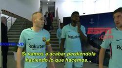 De profetische woorden tijdens de rust van Iniesta, die ongetwijfeld ander afscheid aan kampioenenbal in gedachten had