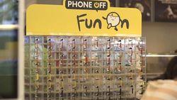 McDonald's biedt lockers aan om je smartphone op te bergen tijdens het eten