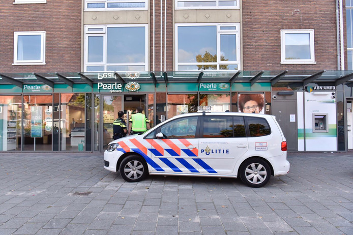 Gewapende overval op Pearle in Eindhoven.