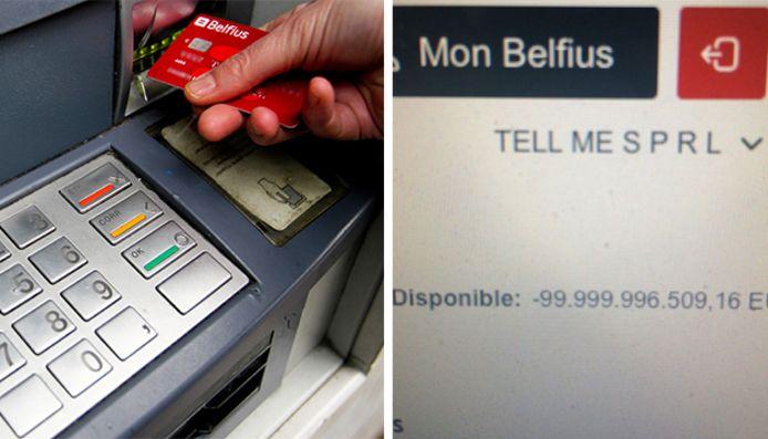 Surprise au moment d'acheter un sandwich: son compte affiche un solde négatif de presque 100 milliards d'euros