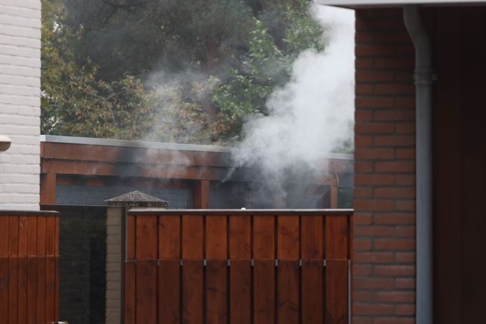 Brand in bijgebouw in Maliskmap.