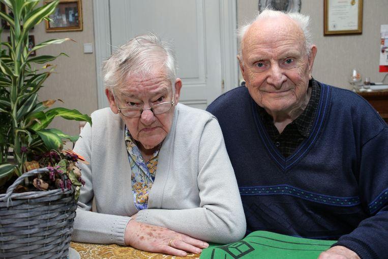 Alfons Wouters en Maria Janssens zijn 65 jaar getrouwd.
