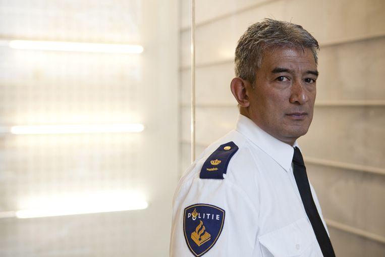Politiecommissaris Max Daniel (Harry Cock/ de Volkskrant) Beeld