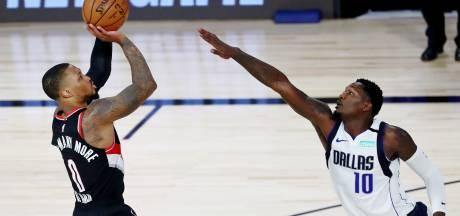 Basketballer Lillard evenaart record met 61 punten voor Portland