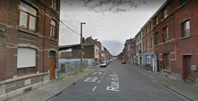 La rue du Moulin a été rendue à la circulation.