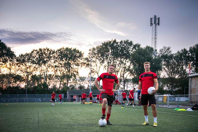 Marlo Janisse en Dyllan Davidse gaan dit seizoen met RCS voor de titel.