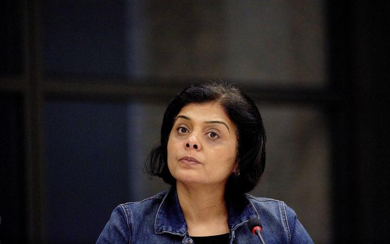 Tanja Jadnanansing. Het voormalig Kamerlid van de PvdA is inmiddels twee jaar stadsdeelvoorzitter van Amsterdam-Zuidoost. Beeld ANP