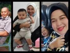 Zwangere moeder, gezin en zakenman: slachtoffers van crash Indonesië krijgen gezicht