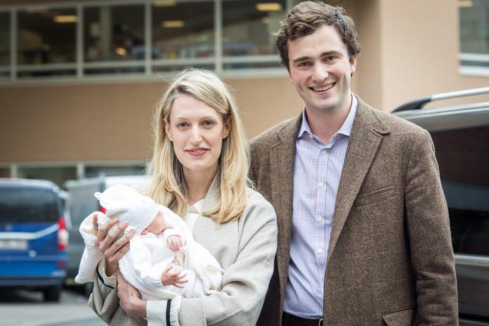 Le prince Amedeo et la princesse Elisabetta étaient déjà parents d'une petite fille, Ana Astrid, née en mai 2016.