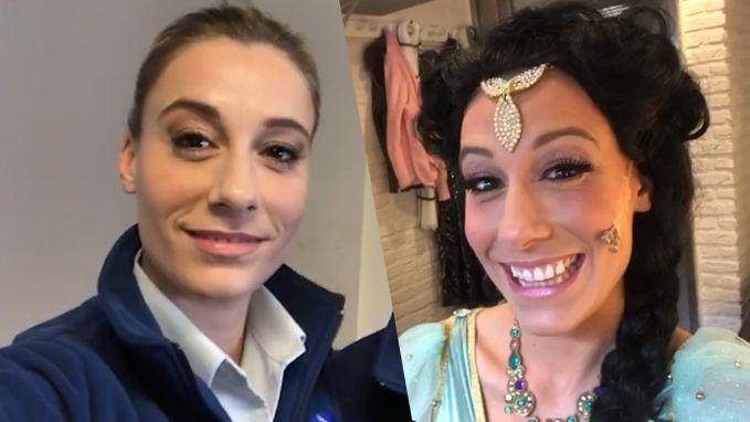 Ga mee met Ianthe Tavernier naar de set van De Buurtpolitie en de premère Aladdin