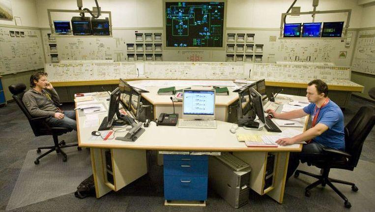 De controlekamer van de kerncentrale van Borssele. ©Rob Huibers Beeld