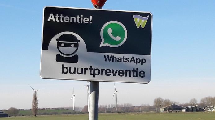 Buurtpreventie via Whatsapp in het buitengebied van Waalwijk.