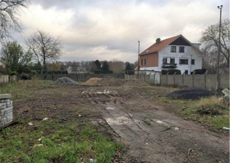 Het terrein in de Limburg Stirumlaan.