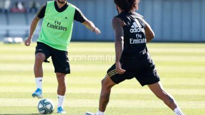 Maakt Hazard volgende week grote Real-debuut? Eden traint opnieuw mee met groep