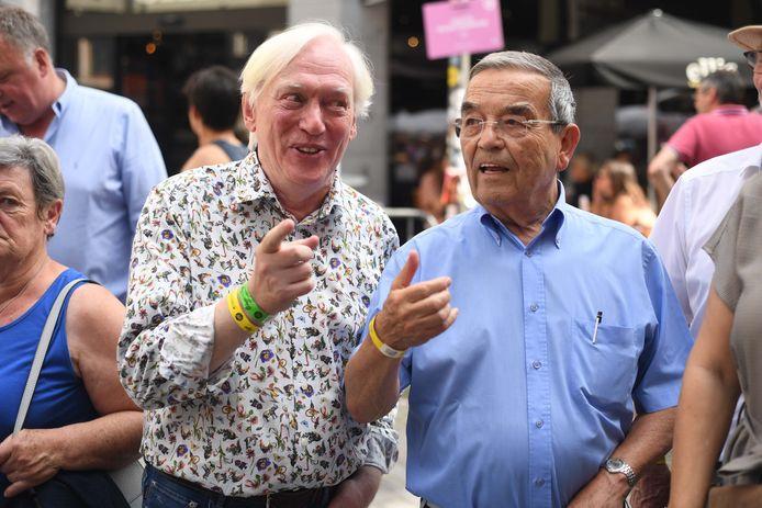 Luc Ponsaerts ging in het verleden als voorzitter van vzw Oude Markt de discussie over een sluitingsuur ook aan met toenmalig burgemeester Louis Tobbback (sp.a).