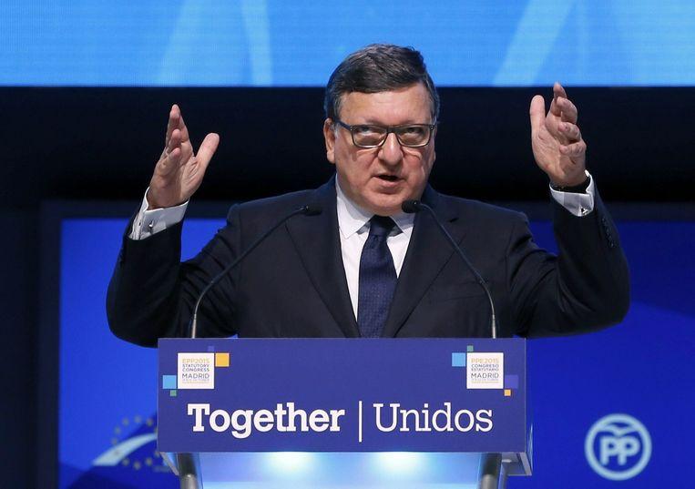 Oud-voorzitter van de Europese Commissie Barroso. Beeld epa