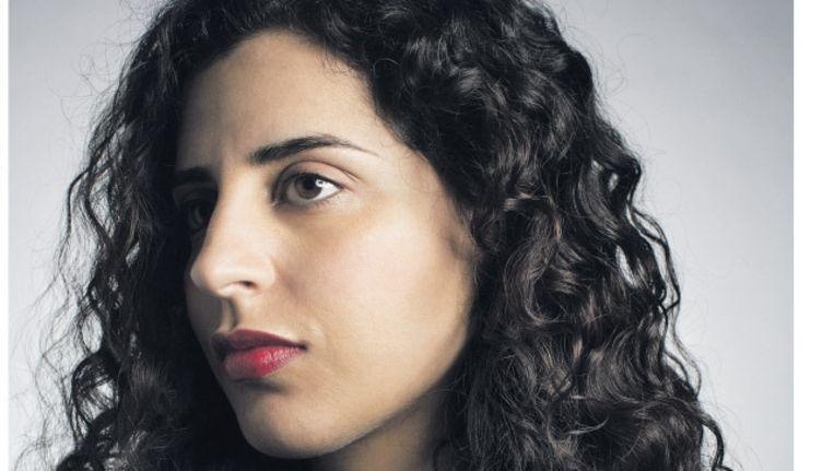 Nadia Ezzeroili, zoals afgebeeld op de cover van Vonk, zaterdag 30 januari, Beeld de Volkskrant