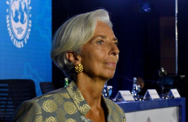 Terwijl handelsoorlog oplaait, roept IMF-baas Lagarde juist op tot samenwerking
