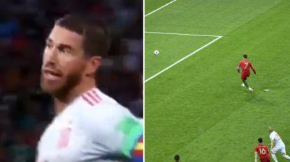 Hoe Sergio Ramos er alles aan deed om te voorkomen dat Ronaldo zijn penalty zou omzetten