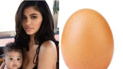 Foto van doodgewoon ei breekt Instagramrecord Kylie Jenner