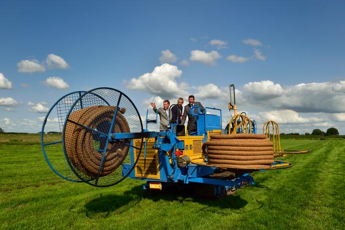 Vorig jaar werd begonnen met de aanleg van het onderwaterdrainageproject in Driebruggen.