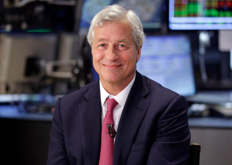 Jamie Dimon, topman van de grote Amerikaanse bank JPMorgan Chase.