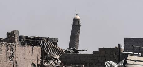 IS blaast moskee op waar het kalifaat werd uitgeroepen
