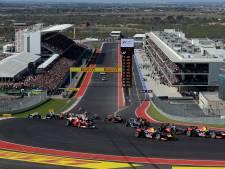 Regen tijdens vrije trainingen, vaker droog tijdens Grand Prix VS