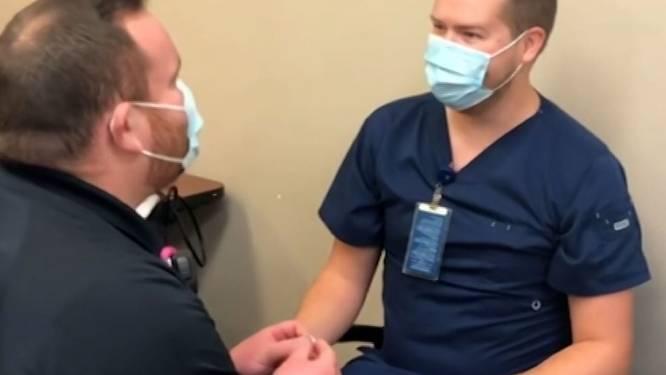Vaccinatie draait uit op huwelijksaanzoek