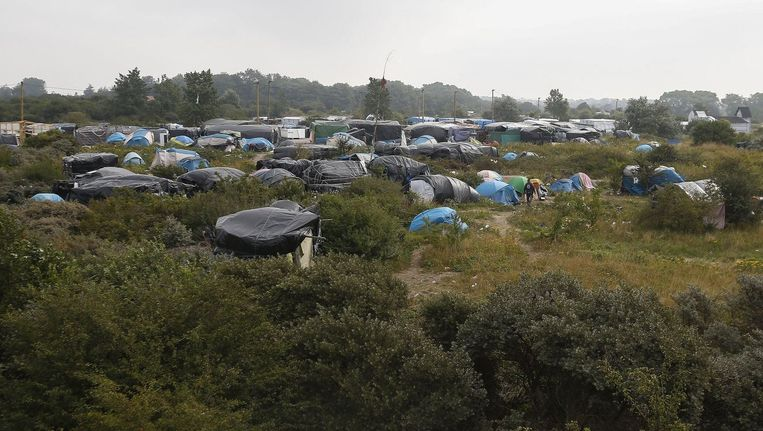'The Jungle', Calais.