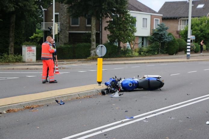 De motorrijder is zwaargewond geraakt bij het ongeluk op de Groesbeekseweg in Nijmegen