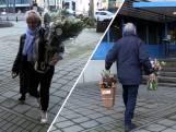 Eindhovenaren brengen bloemen naar politieagenten als dank:            'Hartverwarmend'