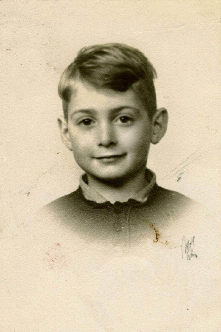 Maurice Meijer in 1944. (Trouw) Beeld