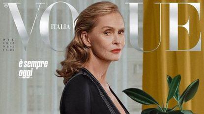 Dit is de oudste vrouw ooit op de cover van Vogue