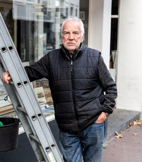 Glazenwasser Jan Arends staat al meer dan 60 jaar op de ladder