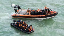 Meer dan twintig migranten gered voor kust van Duinkerke