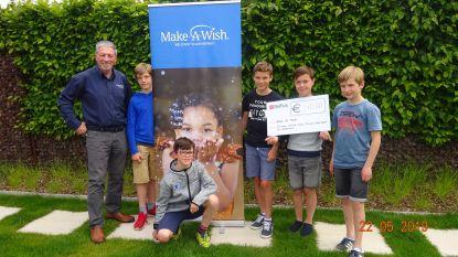 Leerlingen Visitatieschool zamelen 540 euro in voor Make a wish