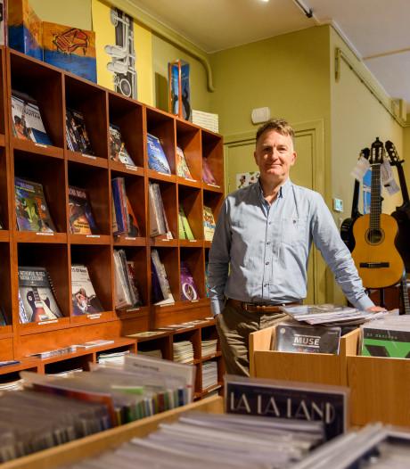 Eindhovense muziekhandel Toon's: een van de laatste winkels in bladmuziek die voorgoed de deuren sluit