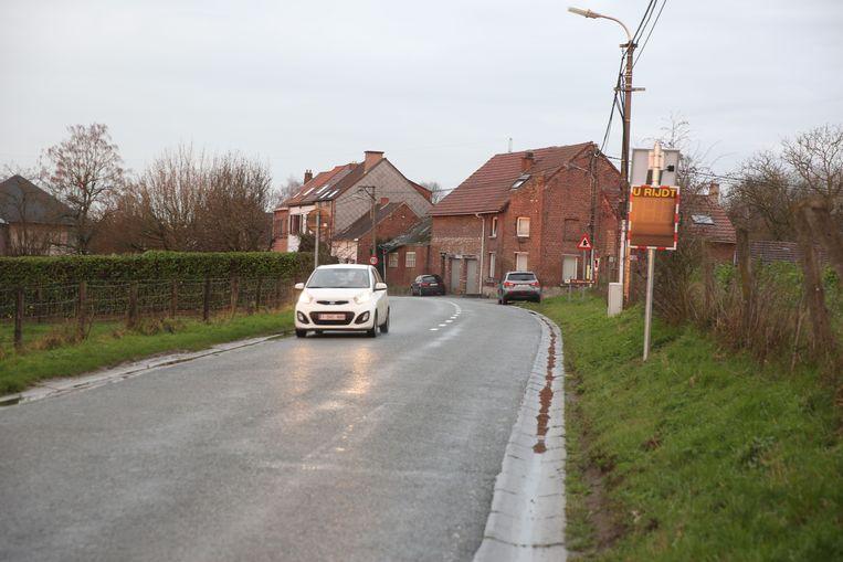 De Hoogstraat in Sint-Pieters-Leeuw.