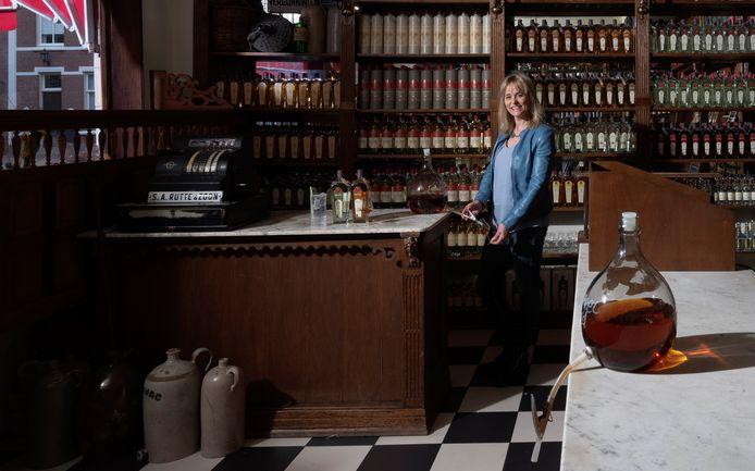 Myriam Hendrickx van Rutte Distillateurs in Dordrecht.