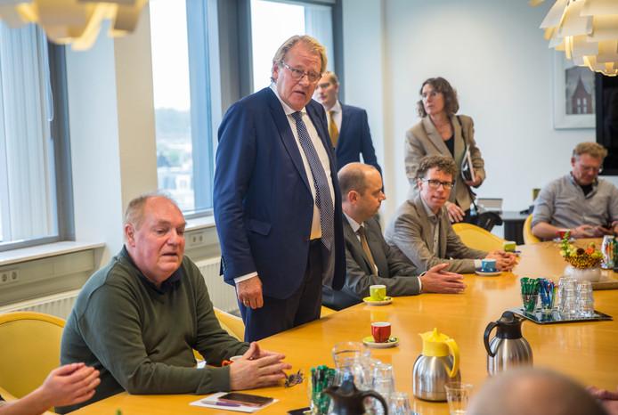 Spoedberaad afgetreden burgemeester Krikke.Provinciehuis.Jaap Smit.(Den Haag 07-10-19) Foto:Frank Jansen