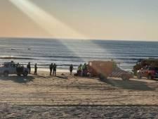 Monsterse Reddingsbrigade: 'Er kwamen vrijdag veel meldingen van zwemmers die in moeilijkheden waren'