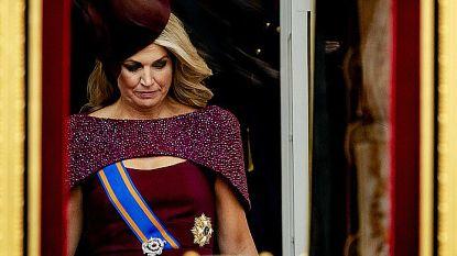 Nederland raakt maar niet uitgepraat over decolleté van koningin Máxima