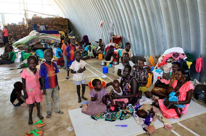 Een missie van de VN voor de opvang van vluchtelingen in Zuid-Soedan.