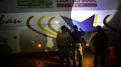 Campagnebussen van Braziliaanse ex-president Lula beschoten